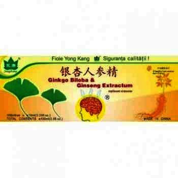 Ginkgobiloba + Ginseng - China