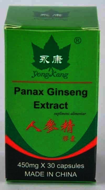 Ginseng cps. x 30 - Panax