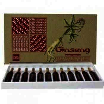 Ginseng Fiole Par 10 ml -fiole x 12