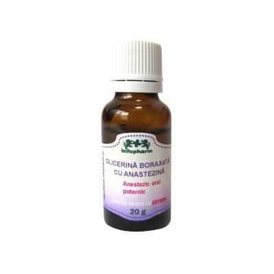 Glicerina Boraxata cu Anestezina x 20g -Infofarm