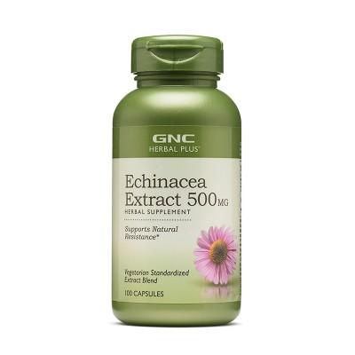 GNC Echinacea Extract 500mg - capsule x 100