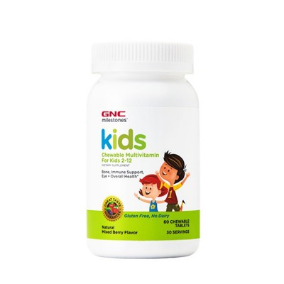GNC Kids Chewable Multivitamine - tablete masticabile x 60