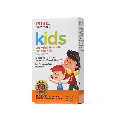 GNC Kids Chewable Probiotice x 30