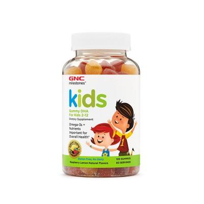GNC Kids Gummy DHA For Kids x 120