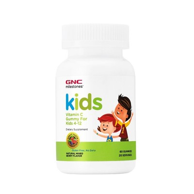 GNC Kids Vitamin C Gummy For Kids 4-12 ani - gummies x 60