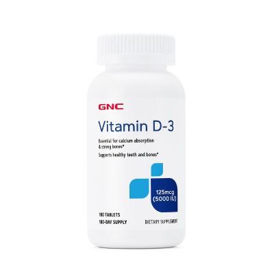 GNC Vitamina D3 5000IU - tablete x 180