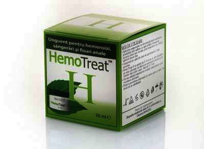 Hemotreat Unguent Hemoroizi x 50 ml - Global Treat