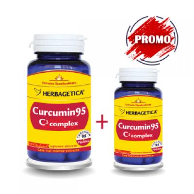 Herbagetica Curcumin 95 C3 Complex -cpx. x 60 + 10 (Oferta)