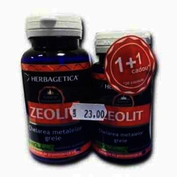 Herbagetica Zeolit -cps x 30