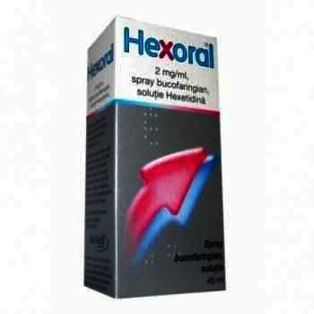 Hexoral spray 2mg/ml x40 ml