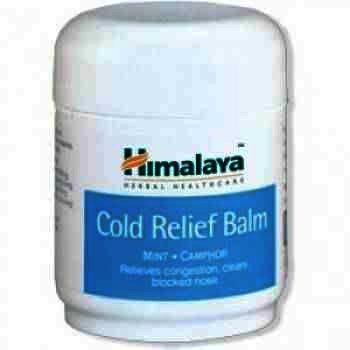 Himalaya Cold Relief Balm x 50ml 1+1 Cadou
