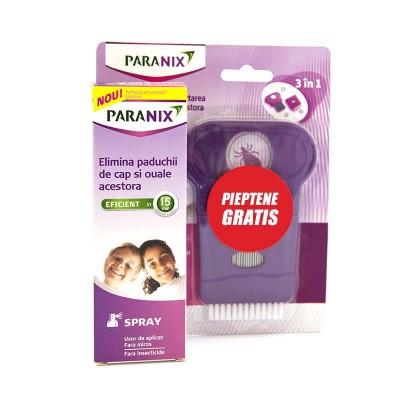 Hipocrate Paranix Spray x 100 ml + Pieptane (Oferta)