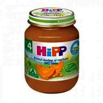 Hipp Primul Dovleac al Copilului x 125 g
