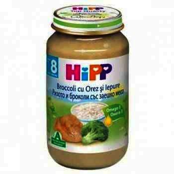 Hipp Risotto cu Carne de Iepure x 220 g