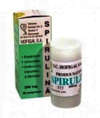 Hofigal Spirulina 200 mg -cpr. x 40
