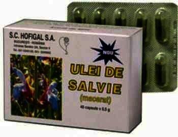 Hofigal Ulei Salvie cps. x 40