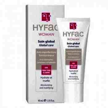Hyfac Woman Crema Globala Piele Mixta x 40 ml