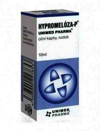 Hypromeloza-P 5mg/ml-sol.oft. x 10ml-Unimed