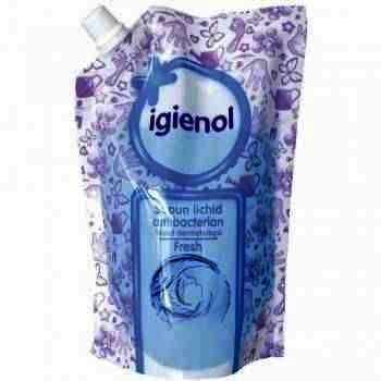 Igienol Sapun Lichid Antibacterian Fresh Rezerva x 500 ml