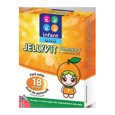 Infant Uno Jellyvit Omega 3 - jel. x 18 - Solacium