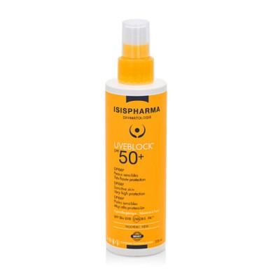 Isis Uveblock SPF50+ Spray Protectie Solara x 200ml