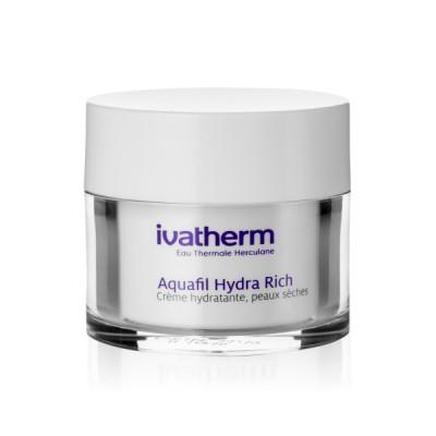 Ivatherm Aquafil Rich Crema Hidratanta x 50 ml