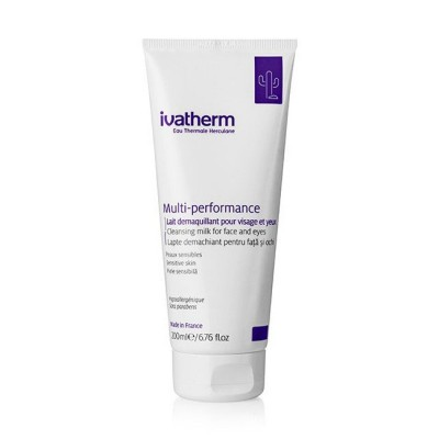 Ivatherm Multi-Performance Lapte Demachiant pt Fata si Ochi x 200 ml
