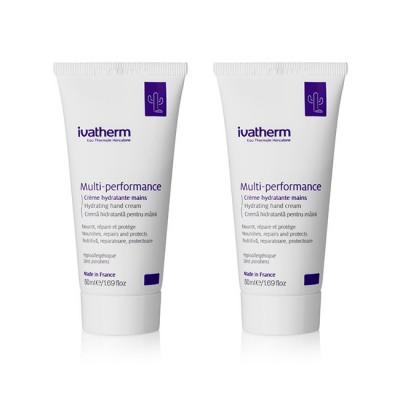 Ivatherm Pachet Multi-Performance Crema Maini x 50 g (1+1 -70% Oferta)