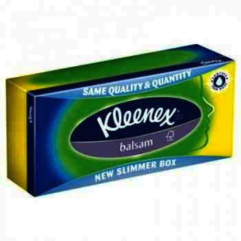 Kleenex Servetele Faciale Balsam x 60