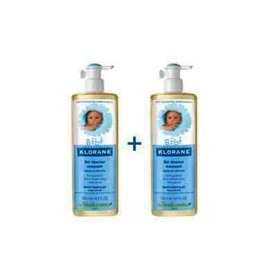 Klorane Bebe Gel Spumant Par+Corp x 500 ml (2 Pack)
