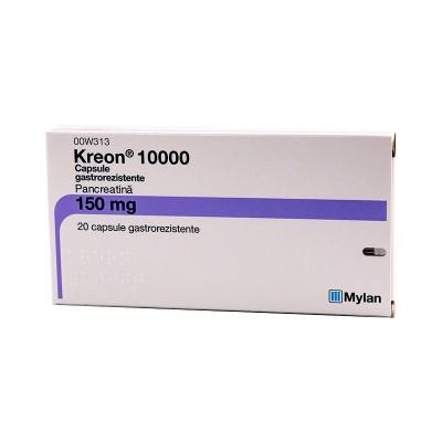 Kreon 150 mg (10000ui) -cps x 10 -blst. x 2 - Mylan
