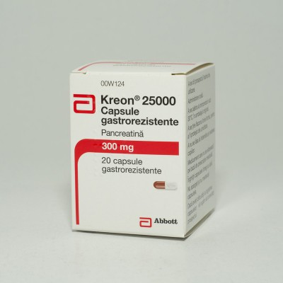 Kreon 300 mg (25000 ui) -cps x 20 - Abbott
