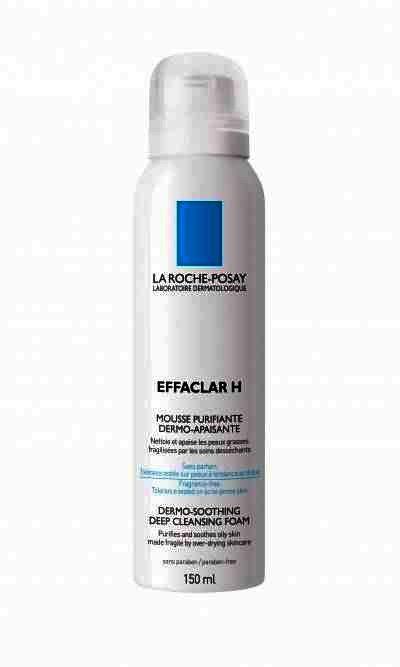 Spuma De Curatare Dermo-calmanta La Roche-posay Effaclar H Pentru Tenul Gras Sensibilizat, 150ml