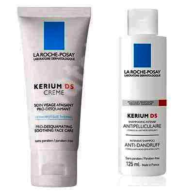 La Roche Posay Kerium DS Crema x 40 ml + Kerium Sampon