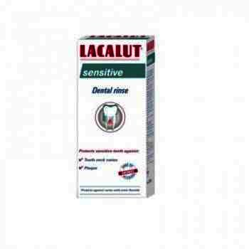 Lacalut Apa de Gura Sensitive Antiplaque x 300 ml