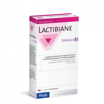 Lactibiane Tolerance - cps. x 30 - Pileje