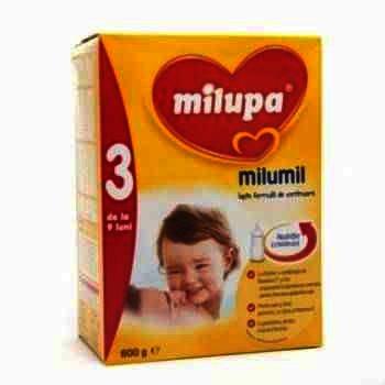 Lapte Praf Milupa Milumil 3 x 600 g