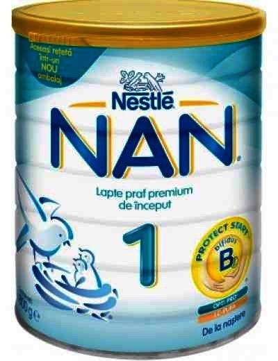 Lapte Praf Nestle Nan 1 x 800 g