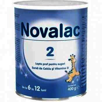 Lapte Praf Novalac 2 x 400 g