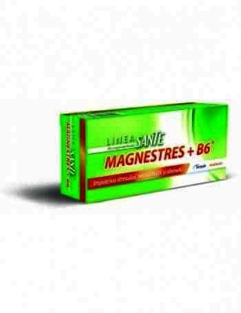 Linea Sante MagneStress +Vit.B6 -cpr.film. x 40 -Terapia