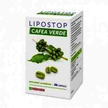 Lipostop Cafea Verde -cps x 30