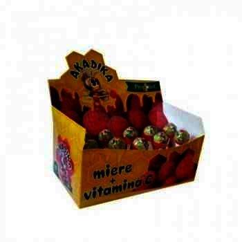 Lollipops Akadika Acadele cu Propolis si Vit C x 15 - Fiterman