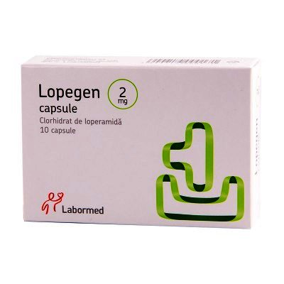 Lopegen 2 mg -cps x 10 - Labormed