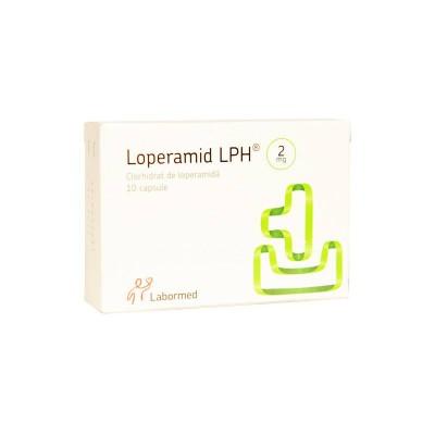 Loperamid (Lopegen) 2mg -cps. x 10 - Labormed