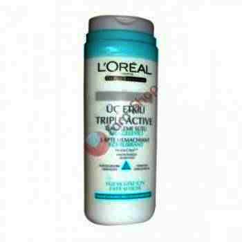 Loreal Triple Active Lapte Demachiant