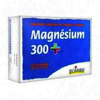 Magnesium 300 mg -cpr x 80 - Boiron