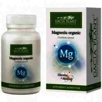 Magneziu Organic - cpr. x 60 - Dacia Plant