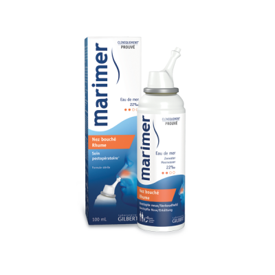 Marimer Hipertonic -spray.nazal x 100 ml - Gilbert