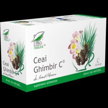 Medica Ceai Ghimbir doze