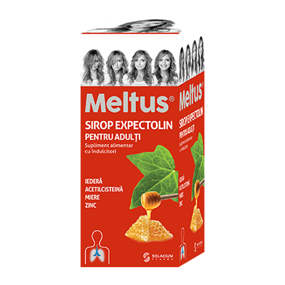 Meltus Expectolin Sirop Adulti x 100 ml - Adya